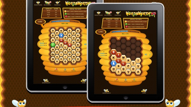 WordsWorth HD Is A BEE-autiful Word Game For iPad