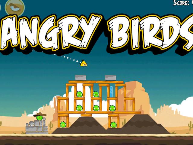 Angry Birds: Update Includes 15 New Levels And A New Golden Egg