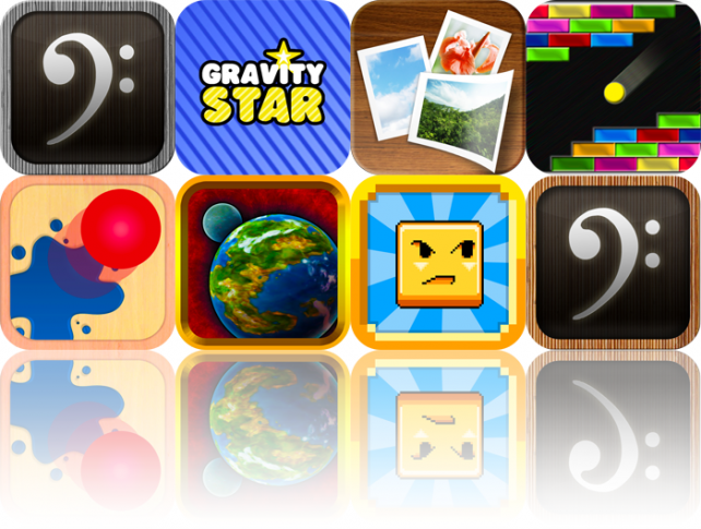 iOS Apps Gone Free: Nota For iPad, Gravity Star, Instapic, And More