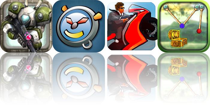 iOS Apps Gone Free: RobotNGun, FreakyAlarm, Lane Splitter, And More