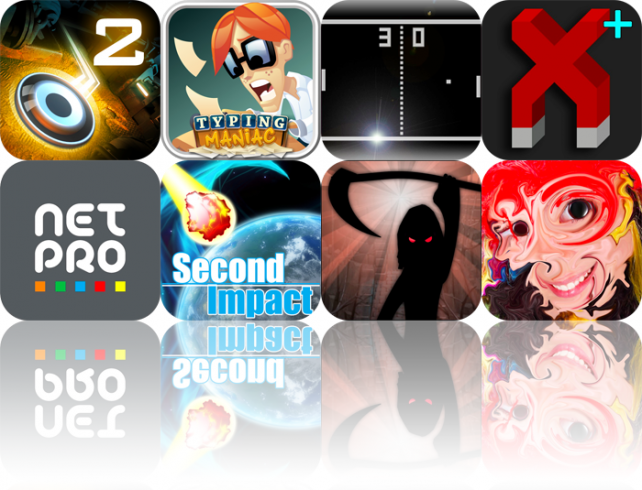 iOS Apps Gone Free: Dark Nebula - Episode Two, Typing Maniac, Just Pong, And More
