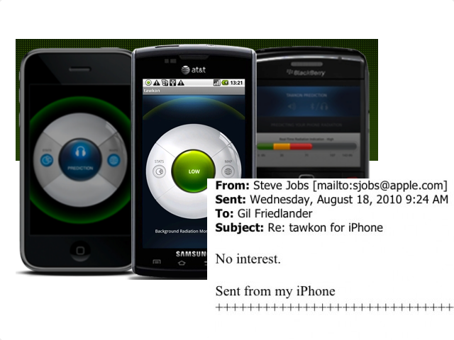 "Steve Jobs Has ""No Interest"" In iPhone App That Detects Radiation, But You Can Still Get It"