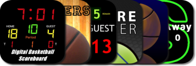 New AppGuide: Basketball Scoreboards For iPad