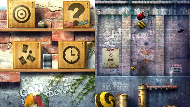Find Out Just How Many Cans You Can Knock Down In Can Knockdown 2