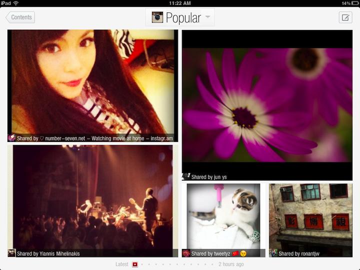 Showoffs: Flipboard And Instagram Get Together