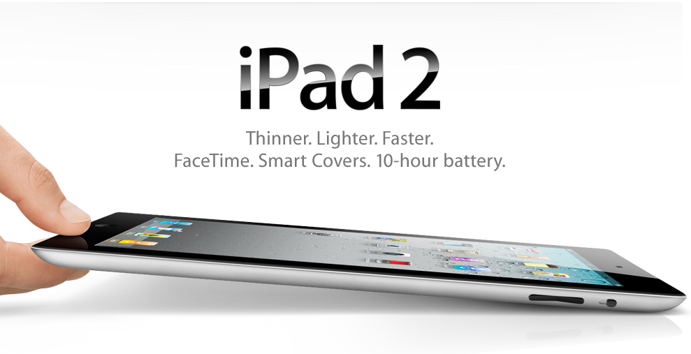 U.S. Online Sales Of The iPad 2 Begin Tomorrow At 1 AM PST