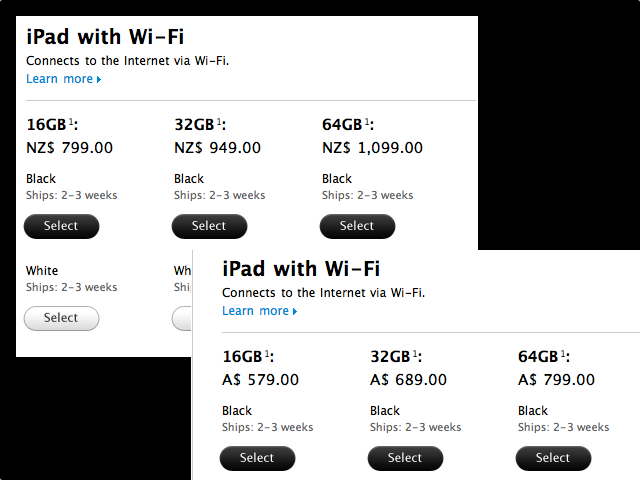 The iPad 2: Faster Delivery Overseas [Updated]