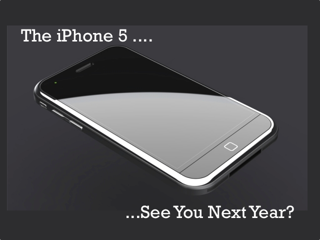 The iPhone 5: Early FY 2012 Release? [Updated]