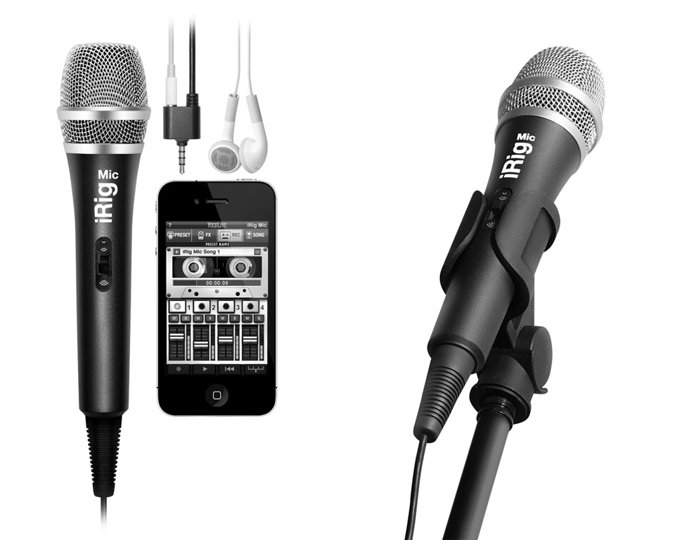 IK Multimedia's iRig Mic Is Now Shipping