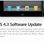 It's Official: iOS 4.3 Update Now Available For Download