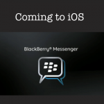 BlackBerry Messenger For iOS Could Arrive April 26 [Updated]