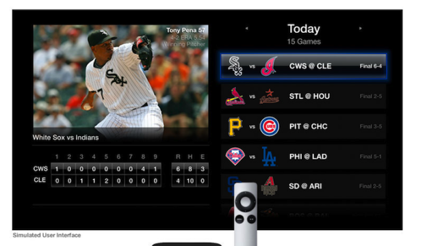 Apple TV Scores MLB Games For 2011 Season [Update: NBA & 5.1 Netflix Too]
