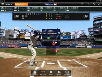 MLB.com At Bat 11 For iPad Gets A Facelift For Opening Day