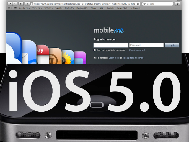 Will Apple Finally Announce A Free MobileMe Service And iOS 5 Next Month?