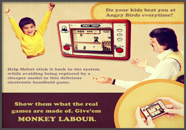 Party Like It's 1982: Monkey Labour Brings Old Style Gaming To iOS
