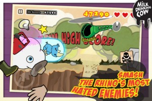 Angry Rhino Rampage by Milk Drinking Cow screenshot