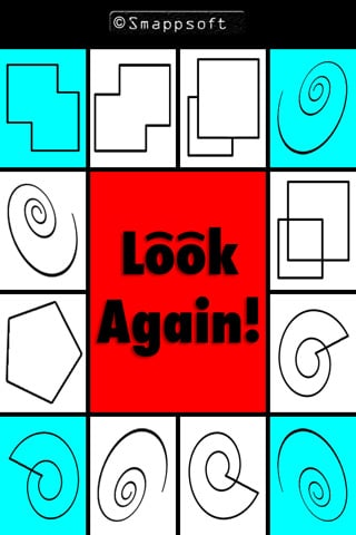 Challenge Your Brain In This Fast Paced Puzzle Game: Look Again!