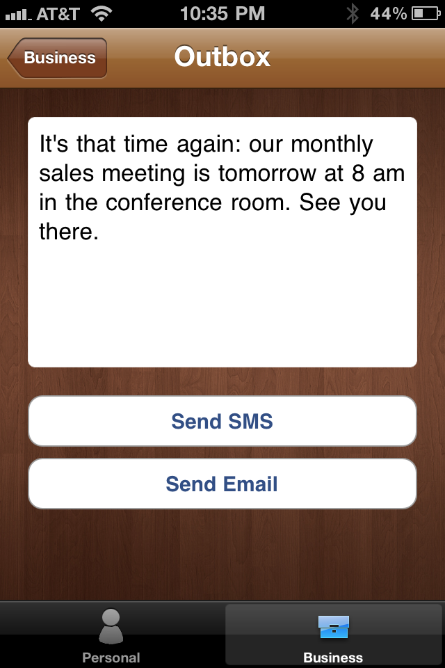 Smail Stencil Makes It Easier To Send Repetitive Email Or