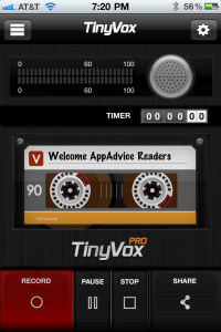 TinyVox: Record Your Every Thought