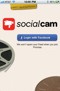 Sharing Photos Is So 2010, As Socialcam App Debuts Allowing Video Sharing