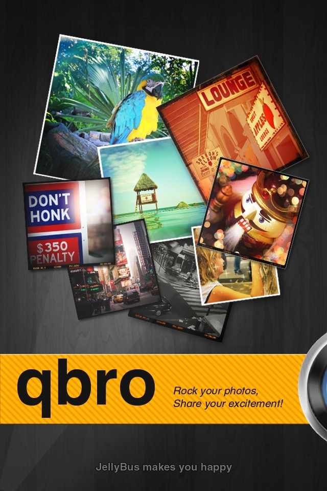 """It's Time To """"Rock Your Photos"""" With qbro"""