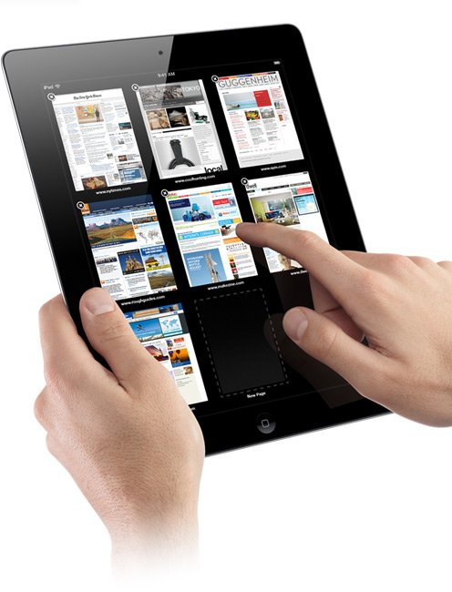 iPad 2 Dominates iPad 1 In Safari Performance