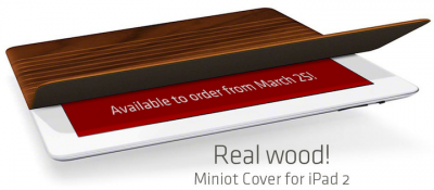 Forget The Smart Cover, Buy A Wood Cover For Your iPad 2 Instead.