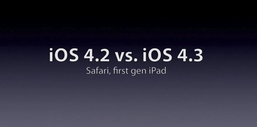 Will Mobile Safari Get Faster With iOS 4.3? One Video Puts It To The Test