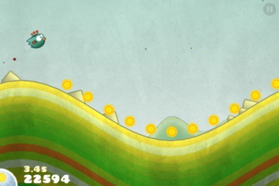 Tiny Wings v1.1 Arrives: Game Center, New Nest, Statistics Report, And More