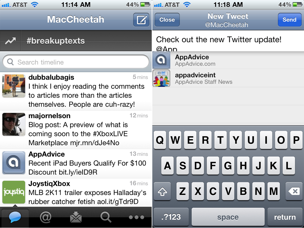 Twitter For iOS Is Garnished With The Debatable Quick Bar, Tidier Compose Tweet UI, And More