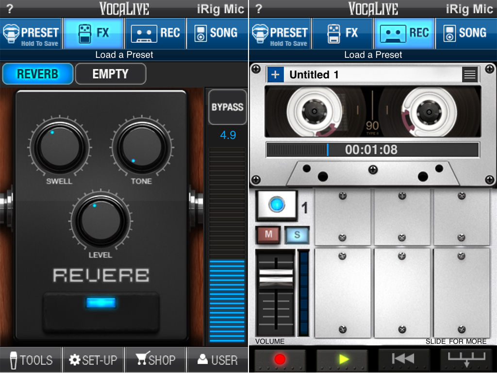 IK Multimedia's VocaLive Is The First High Quality Vocal Processor And Recorder Available For iOS