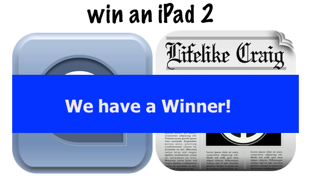 Which Of Our Readers Just Won A New iPad 2?