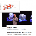 WWDC '11: Sold Out In Ten Hours