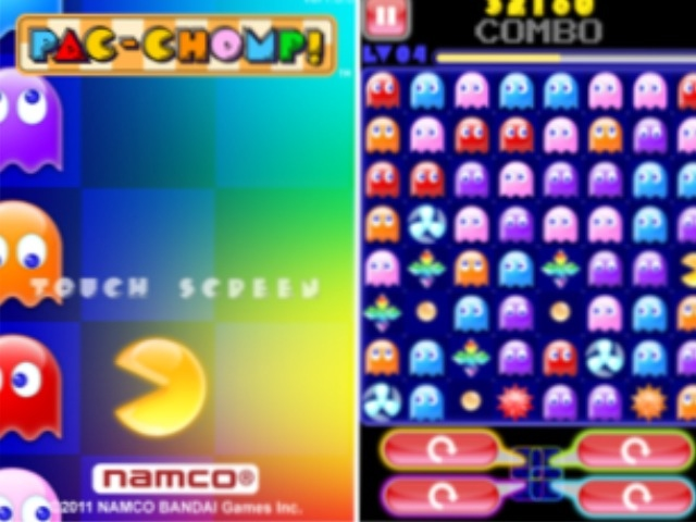 Namco Releases Pac-Chomp! As A Universal App