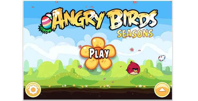 Angry Birds Seasons Updated: Easter Version Available Now!