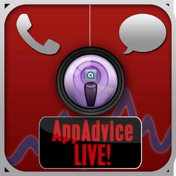 AppAdvice Live! #11 - Tonight - 5 P.M. PDT