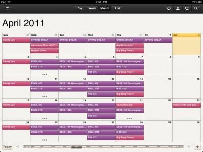 Get An Alternative, Aesthetically Pleasing Calendar For Your iPad With Cloud Calendar