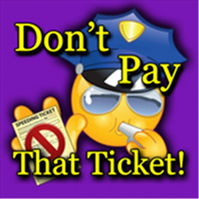 Quirky App Of The Day: Don't Pay That Speeding Ticket