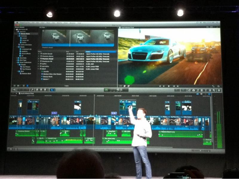 Final Cut Pro X Is Coming In June