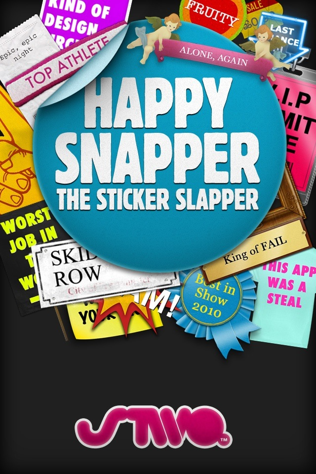 Slap Cool Stickers On Your Photos With Happy Snapper On iPhone