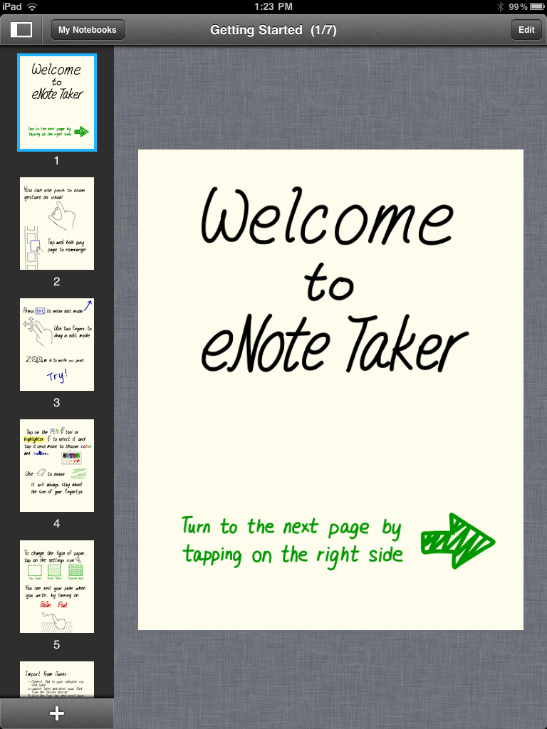 Handwrite Notes With eNote Taker