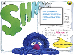 The Monster at the End of This Book (for iPad) by Sesame Street screenshot