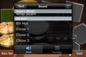 Ratatap Drums by mode of expression, LLC screenshot