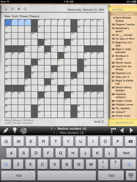 Crux Crosswords HD: A Word Puzzler's Delight - Win A Copy With A Comment