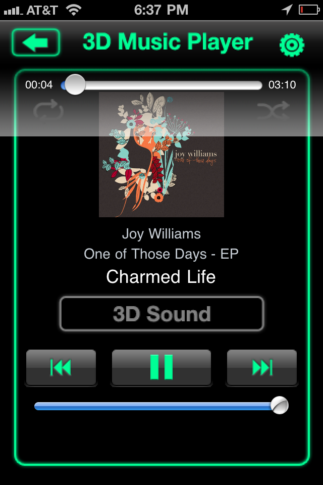 3D Music Pro: 3D Stereo Sound On Your iPhone?