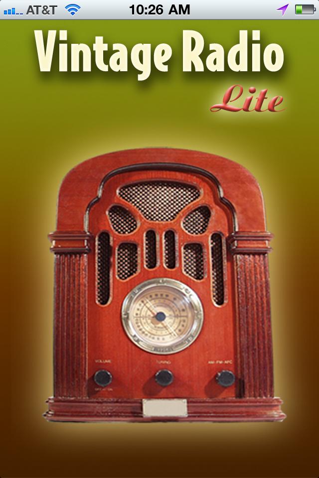 Get Nostalgic With Vintage Radio Lite
