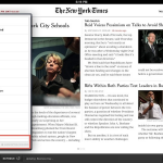 The New York Times App Updated: Adds Paywall, Avoids Apple's Subscription System