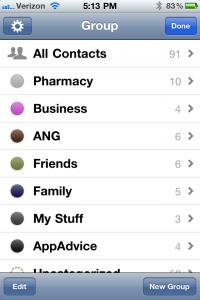 FlickAddress Enhances Contact Management With Grouping And Organization