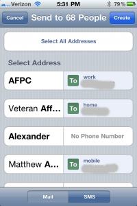 FlickAddress - Manage Contacts by Fenrir Inc. screenshot