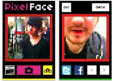 Pixel Face: Snap Pixelated Retro Portraits